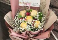 hand bouquet ulang tahun